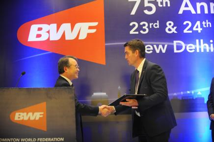 Approval of BWF Honorary Life Vice-President - Dr. Kang, Young Joong